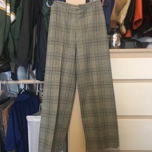 Valentino Vintage Wool Wide Leg Pants